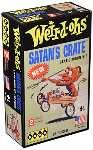 (Hawk Models Satan's Crate Lindy Looney Model Kit Building Kit)