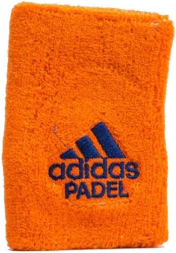 All for Padel Wristband L x2 Muñequeras, Adultos Unisex, Orange ...