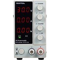 KKmoon 0-30V 0-6A Fuente de alimentación de CC