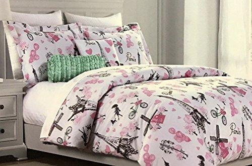 tour deu0027 paris 5piece fullqueen comforter set by cynthia rowley u2013