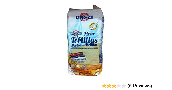 Harina Selecta Tortilla Ready Mix 2.2 Lb: Amazon.com: Grocery & Gourmet Food