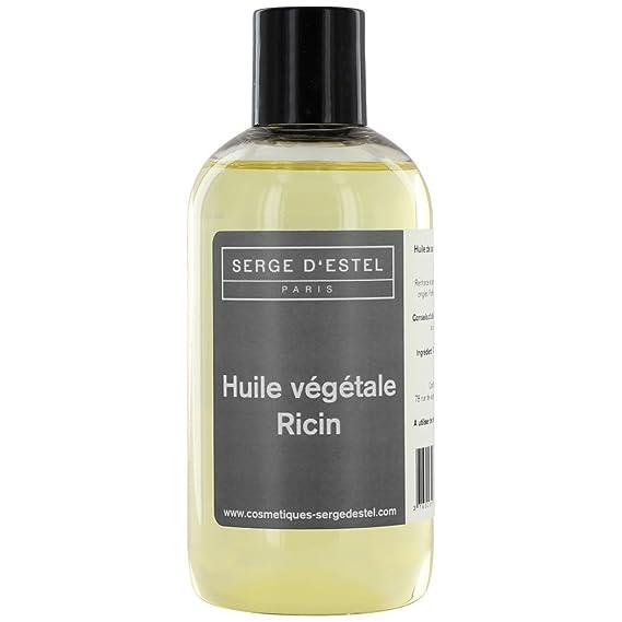 Aceite Vegetal de ricino - 500 ml 100% Pure y naturelle- REPOUSSE des cheveux- fortifiant pestañas y uñas: Amazon.es: Belleza