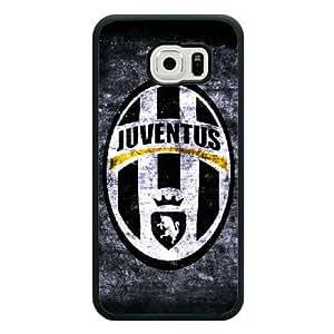 Custom Samsung Galaxy S7 Edge Case Juventus Football Club Galaxy S7 Edge Black Side Protective Cover