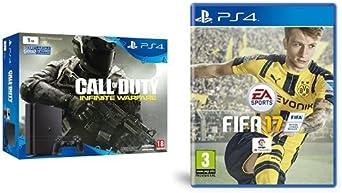 PlayStation 4 Slim (PS4) 1TB - Consola + COD: Infinity Warfare + FIFA 17: Amazon.es: Videojuegos
