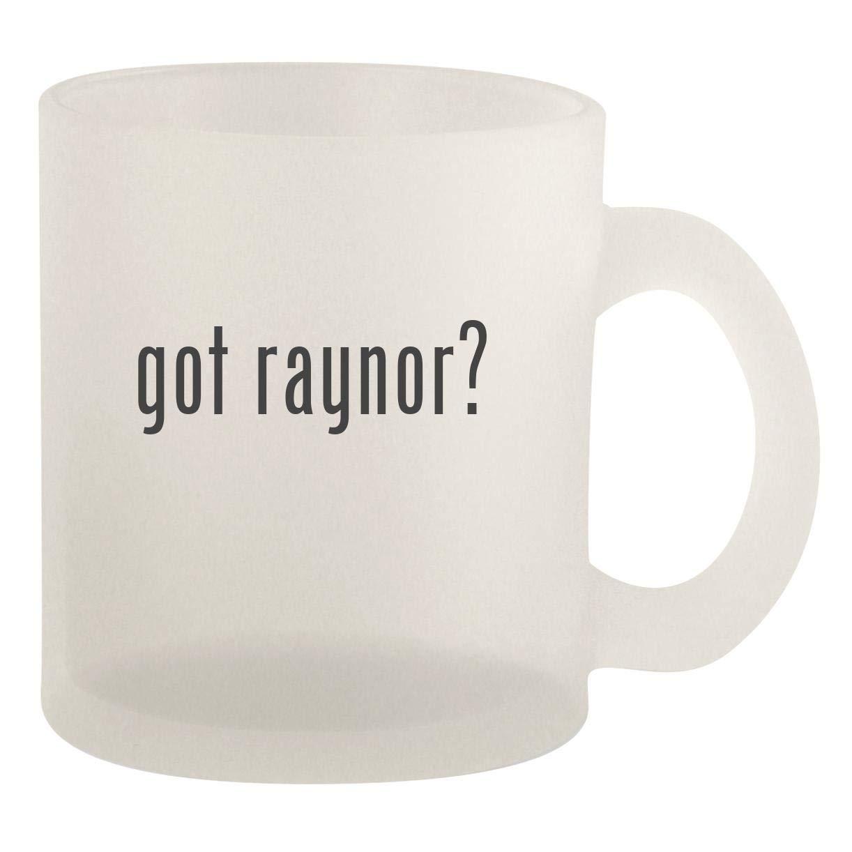 got raynor? - Glass 10oz Frosted Coffee Mug