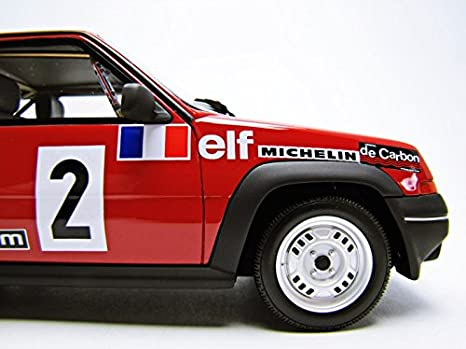OttOmobile - OT 579 - Renault 5 GT Turbo Copa Fase 1 - 1985 - Escala - 1/18: Amazon.es: Juguetes y juegos