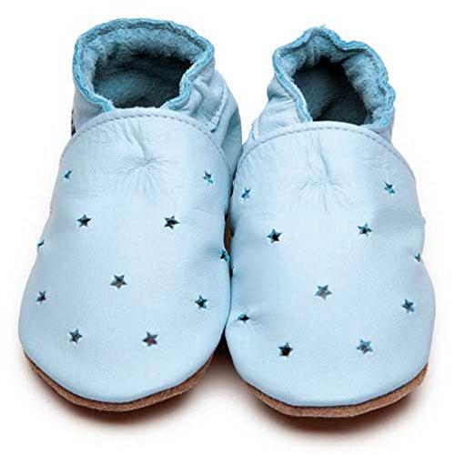 Inch Blue , Chaussures souples pour bébé (fille) Bleu Bleu Child Large
