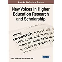 New Voices in Higher Education Research and Scholarship