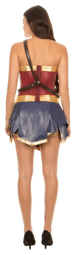 Dc Comics Wonder Woman Warrior Corset and Skirt Costume Set (Adult Medium) by Underboss (Image #3)
