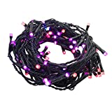 14ft 96pcs Pixels LED String Lights Individually Addressable Dimmable with Smart Phone APP Control,Waterproof Decorative Light Show for Bedroom, Patio, Garden, Parties, Wedding ( Copper Wire Lights)