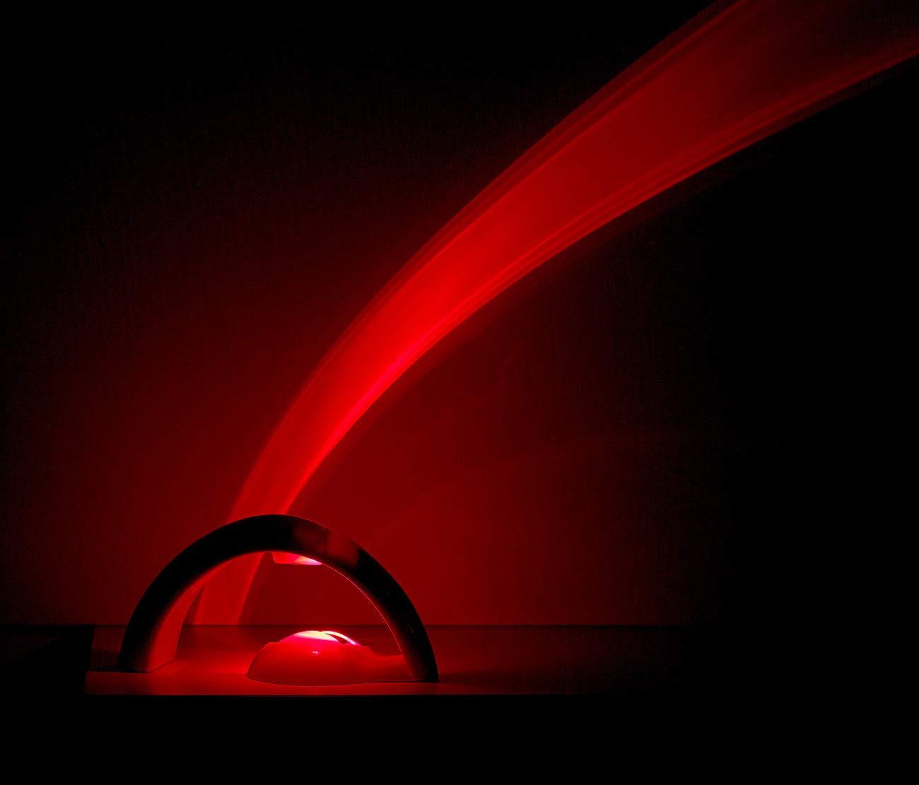 LED-Regenbogen-Projektionsleuchte f/ür Schlaf und Kinderzimmer Timer Playtastic Regenbogen Projektor Regenbogenlampe