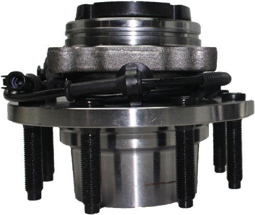 Fine Threads 4x4 Brand New Front Wheel Hub and Bearing Assembly FORD F250/350 Super Duty 4x4 8 Lug,SRW W/ABS Fine Threads, FROM 3/22/99 515056