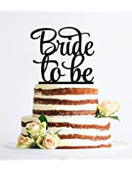 [USA-SALES] Bride to Be Cake Topper, Bridal Shower, Engagement Party Decoration, by USA-SALES Seller