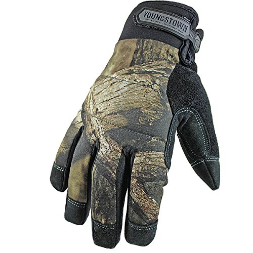 Youngstown Glove 05-3470-99 Camo Waterproof Winter Gloves, Mossy Oak Camo