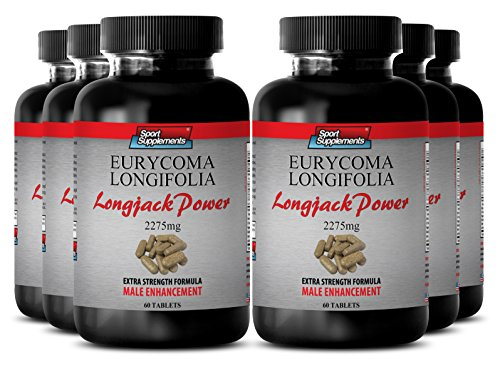 Maca-supplement-Longjack-Power-Eurycoma-Longifolia-2275mg-Male-virility-enhancement-pills-6-Bottles-360-Tablets