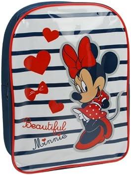 Marcas Colecciones Disney Minnie Mouse Back Pack (Azul/Blanco)