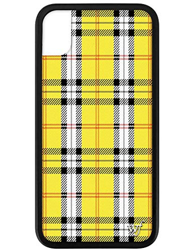 Wildflower Limited Edition iPhone Case for iPhone XR (Yellow Plaid)