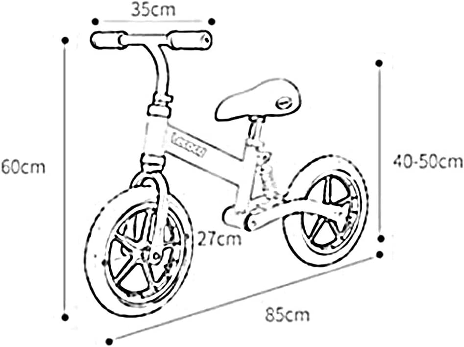 YUMEIGE Bicicletas sin Pedales Bicicleta Sin Pedales Bicicleta De ...
