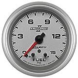 Auto Meter 7761 Ultra-Lite Pro II 2-5/8'' 0-15 PSI Full Sweep Electric Fuel Pressure Gauge