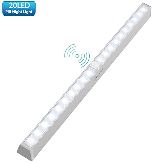 208 opinioni per LOFTER Barra luminosa senza fili 20 LED luce automatica notturna per armadi con