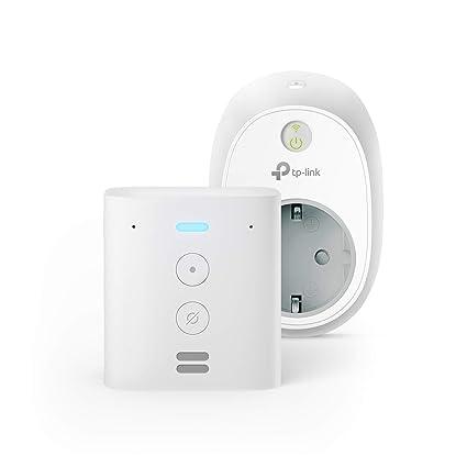 Echo Flex + TP-Link HS100 Enchufe inteligente, compatible ...