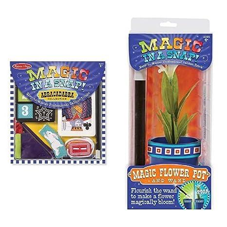 Amazon Com Melissa Doug Magic In A Snap Tricks For Kids 2
