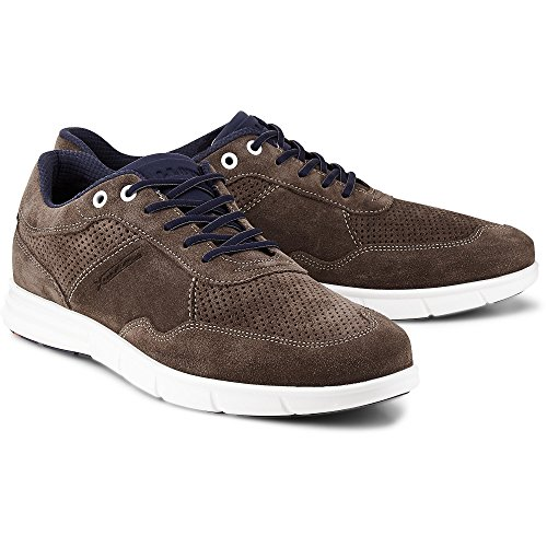 Lloyd Mens Lace Up Adlai Marrone-scuro