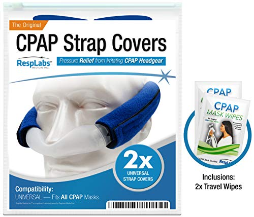 CPAP Headgear Strap Covers, Mask Pads - Universal 2 Pack   Extremely Comfortable Soft Fleece   Machine Accessories & Equipment Supplies by ()