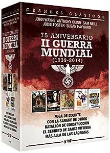 75 Aniversario II Guerra Mundial 5 DVD - Fuga de Colditz + Con la Sangre de otros + Batallon de construcción + El secreto de Santa Vittoria + Mas alla de las