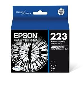 Epson T223120 DURABrite Ultra Standard-Capacity Black Ink Cartridge by Epson