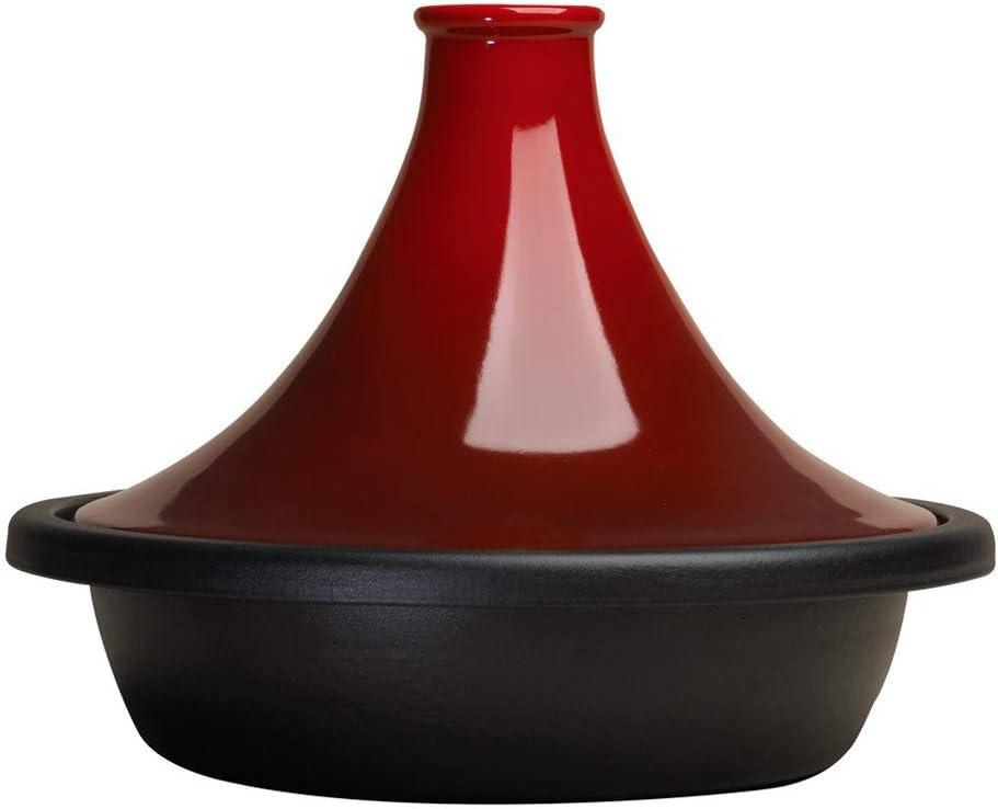 Le Creuset - Tajin de hierro colado esmaltado 31cm, color Cereza