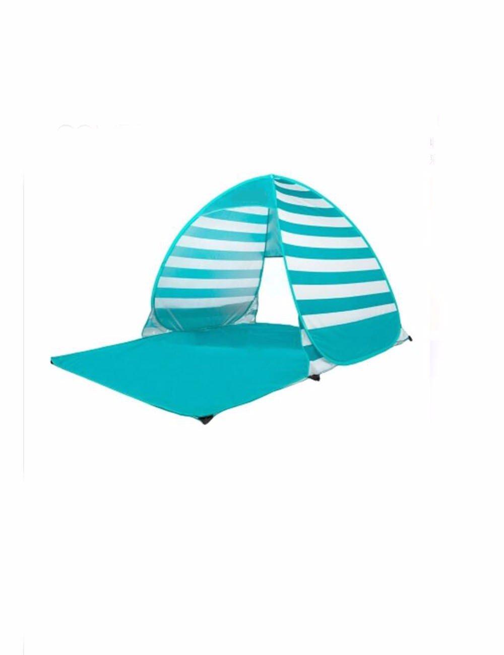 SJQKA-Zelt Outdoor 3-4 Personen Full-Automatic Portable Doppel Sunscreen Angeln Strand Zelt 2 Personen