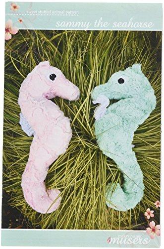 - McKay Manor Musers MMM0228 Seahorse Stuffed Animal Pattern