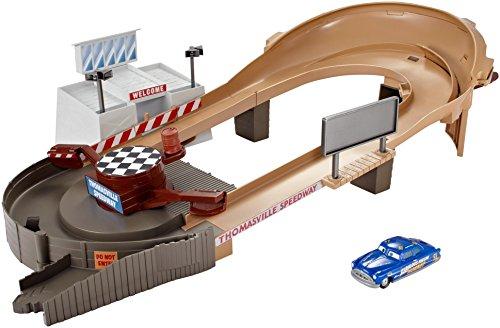 Mcqueen Racetrack Lightning (Disney Pixar Cars Thomasville Racing Speedway Track Set)