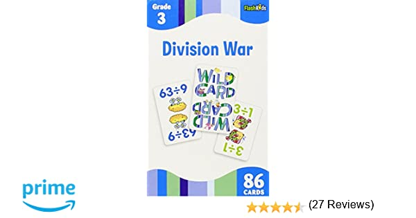 Division War (Flash Kids Flash Cards): Flash Kids Editors ...