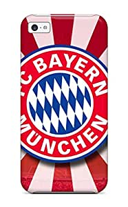 STdwXMk4412AGyEU Tpu Case Skin Protector For Iphone 5c Bayern Munchen Fc Logo With Nice Appearance