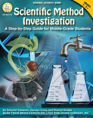 Scientific Method Investigation: A Step-by-Step Guide for Middle-School Students (Science Activity Books) by Mark Twain (Image #2)