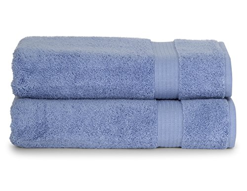 TowelSelections Blossom Collection Soft Towels 100% Turkish Cotton Eventide 2 Bath Towels