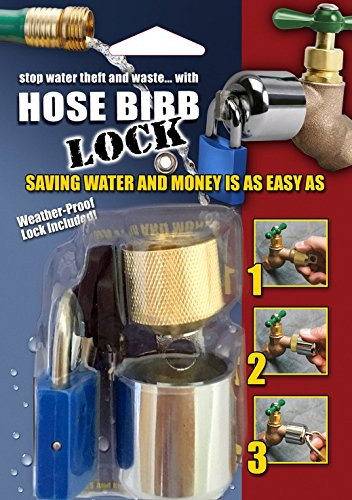 Conservco DSL-2 DSL-2 Hose Bib Lock with (Cover Padlock)