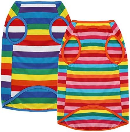 Uvoguepaw - Camisas para perros pequeños, medianos y grandes, talla XS 2