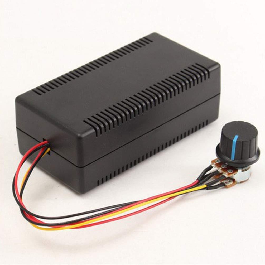 De Conexi/ón Externa Dupeakya 9-50 V Pwm Hoo DC Regulador del Tablero de Control Velocidad 2000W 40A Interruptor Externo Controlador Ajustable Stepless para Cepillo Motor