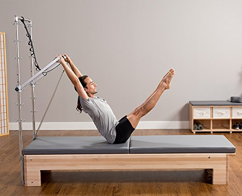 Studio Reformer with Tower and Mat System, and Revo Adjustment System