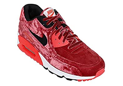 Nike Air Max 90 Anniversary Pack Rouge Velours Infrared Basket Modes Size 37.5 EU