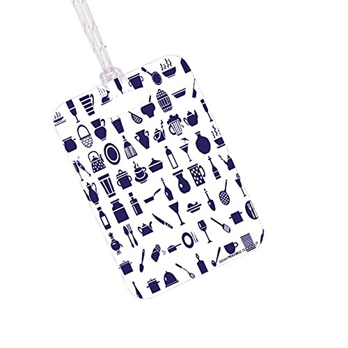 Chef Tools - Space Case by New Vibe Stylish Luggage Tag Bag Tag