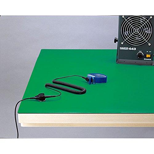 白光:制電マット テーブル用(ライトグリーン) 1X10M 499-5 000056056005 B01AXY6ZM4