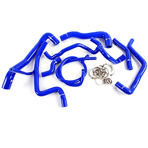 Vw Golf Vr6 - Silicone Radiator Hose For VW Volkswagen Golf MK3 VR6 2.8 2.9 1994 - 1998 Blue