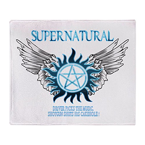 CafePress Supernatural Protection Blanket Stadium