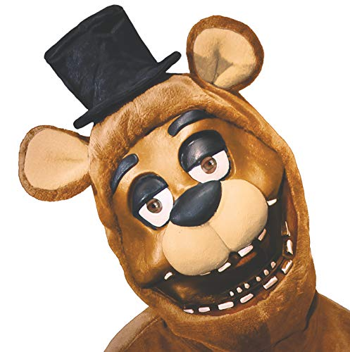 RUBIE'S COSTUME COMPANY Men's Five Nights Freddy 3/4 Mask  As Shown  One ()