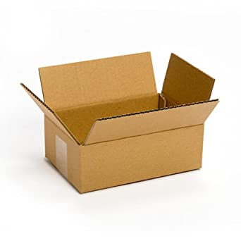 """PRATT pra0016 100% reciclado caja de cartón corrugado, 8 """"x 6"""""""