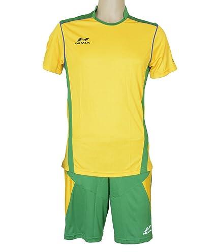 1d56dccf9 Buy NIVIA Radar Football Jersey Set Green Yellow Online at Low ...